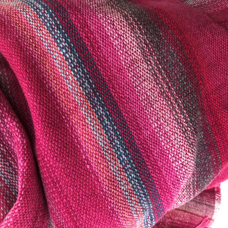 Lambswool Wrap - pinks