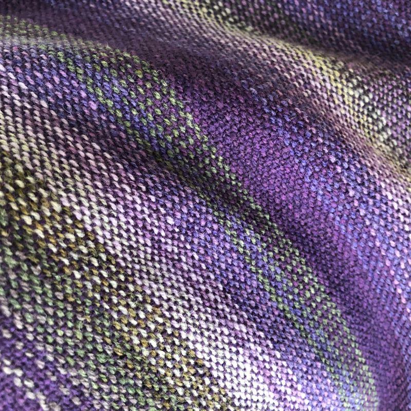Lambswool Wrap - purples