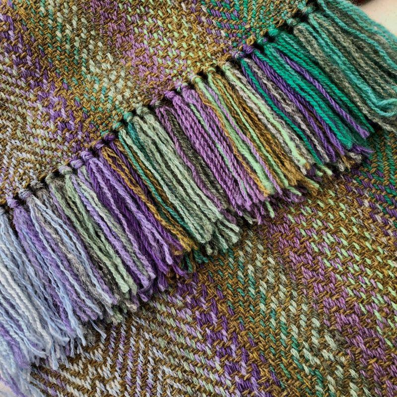 Landscape Olive/Purple Mix