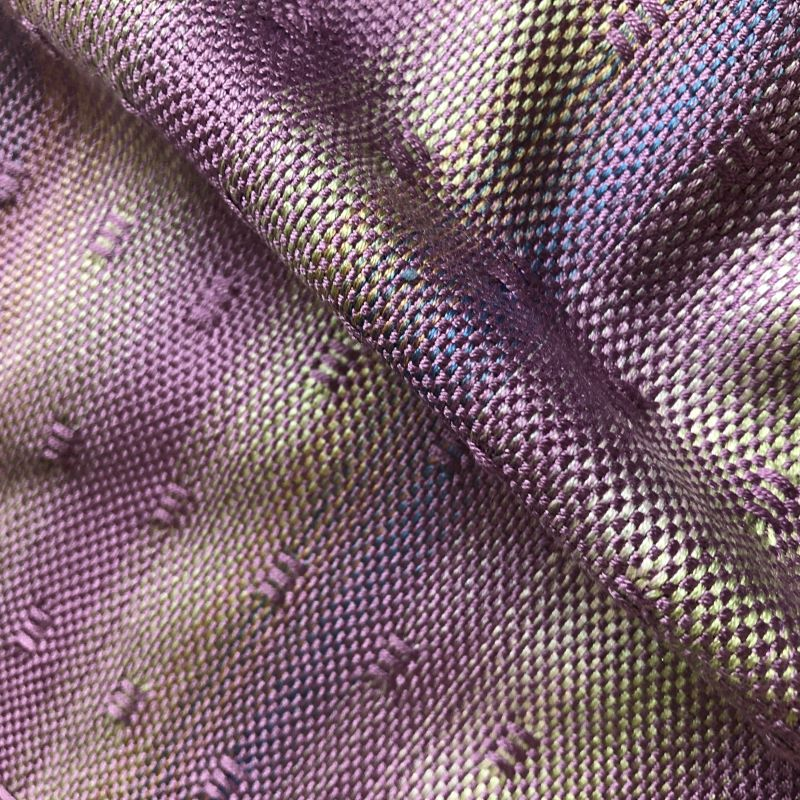 Silk Leno Scarf - Light purples