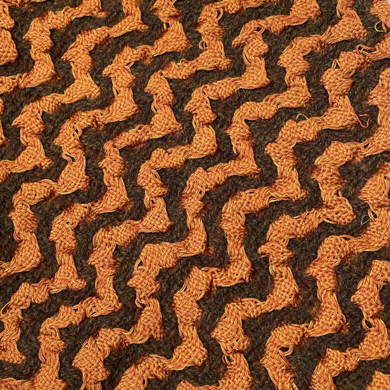 Silk Deflect Scarf - rust/brown
