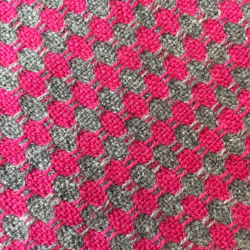 Spot It Scarf - pink and grey